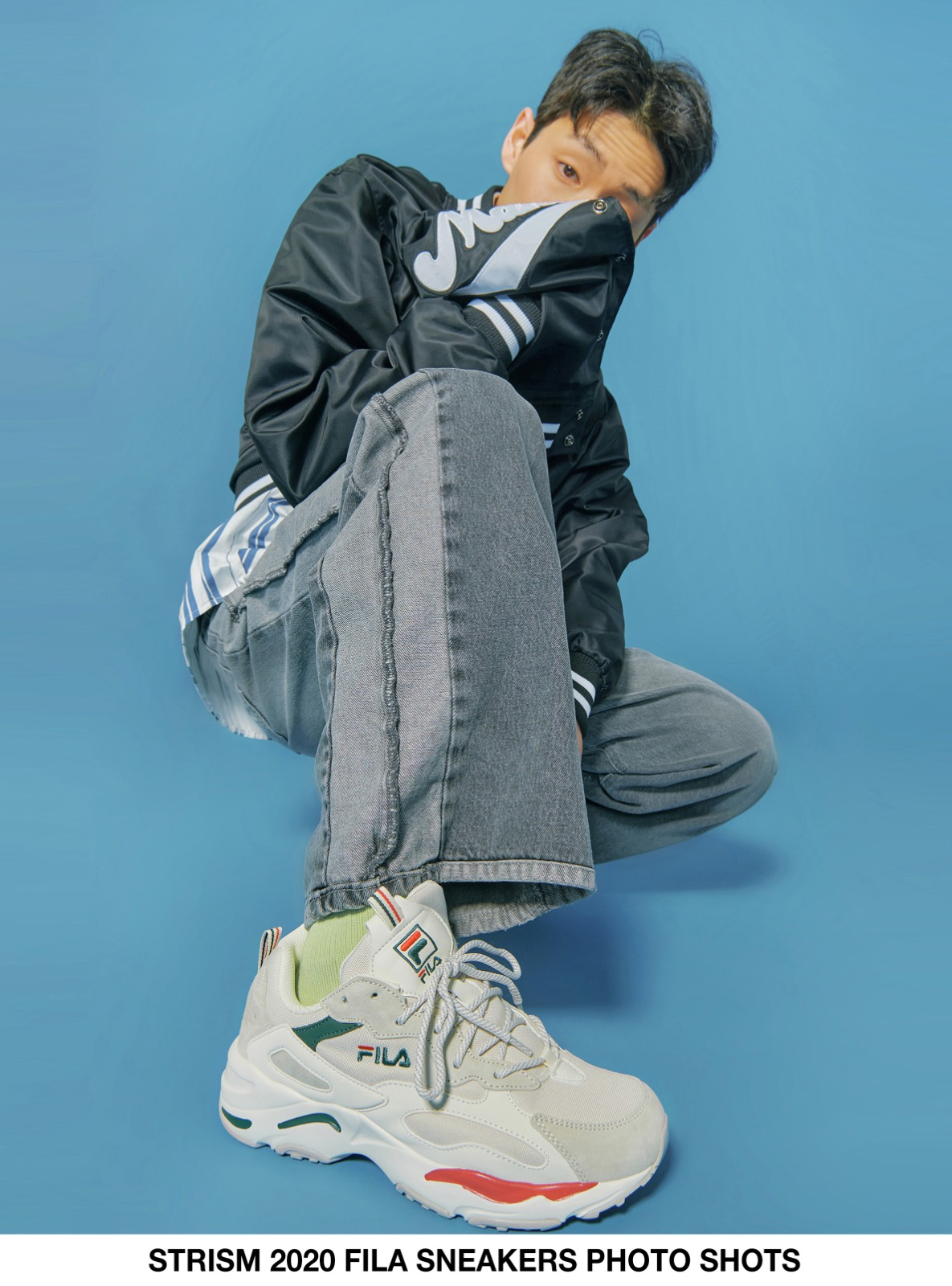 自社ブランド - STRISM 2020 FILA SNEAKERS PHOTO SHOTS